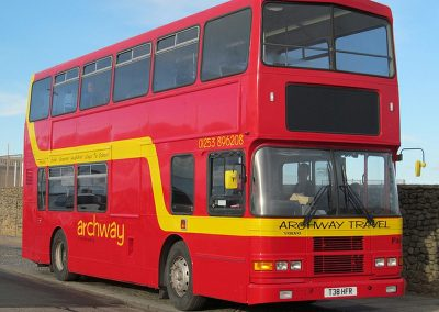80 Seater Double Decker